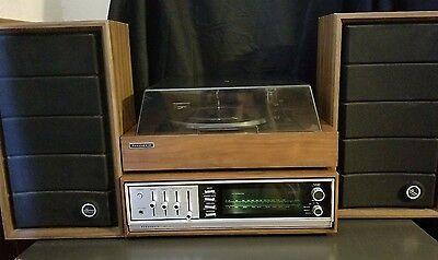 Panasonic SA-700  SL-700A CLASSIC 1970'S AM/FM STEREO RECEIVER TURNTABLE SYSTEM