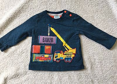 Baby Boy Ted Baker Top 3-6m