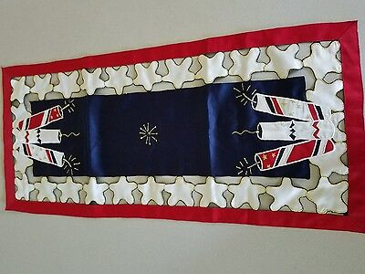 Wimpole Street Creation 4th fourth of July table server runner fireworks