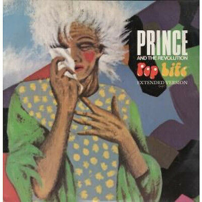 "PRINCE Pop Life 12"" VINYL UK Wea 1985 2 Track Extended Version B/W Girl"