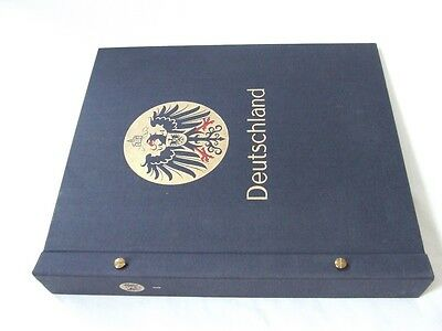 Stanley Gibbons Germany I (Deutschland) 2-Peg Stamp Album, Very Good Condition