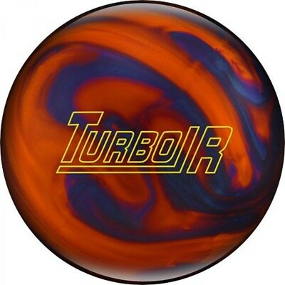 Ebonite Turbo/R Orange/Blue Bowling ball Reactive