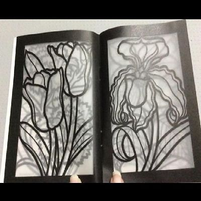 Coloring Books For Adults Lovely Flowers Painting Art Design -Stress Relaxing