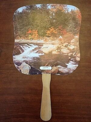 Vintage Paper Handheld Political Advertising Fan- Stephen J Covey