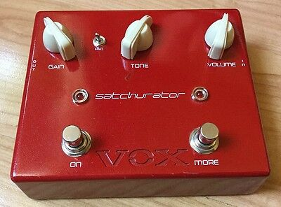 Vox Satchurator - Joe Satriani Distortion
