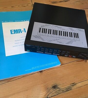 Yamaha EMR-1 Digital Drummer Vintage Drum Machine With Manual