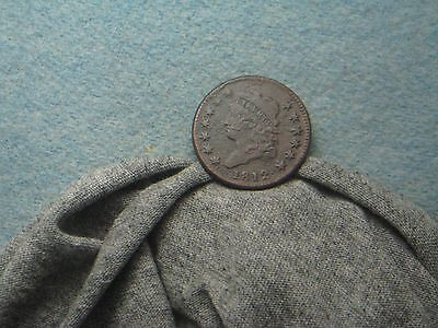 1812 Large Cent!! VF+ Detail!  (10)
