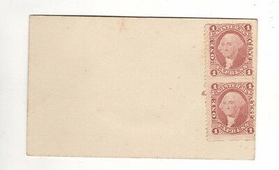 1862-71 Washington Express Revenue Mint Stamps – Two Vertical Imperf. - Sc# R1E