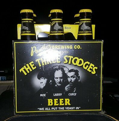 Three Stooges Beer Panther Brewing Co. Unopened