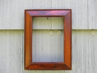 Vintage Handmade Ogee Wood Picture Frame fits 7 x 10 ~Nice Patina