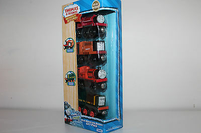 Thomas The Tank Engine Wooden Railway Blue Mountain Quarry Gift Pack