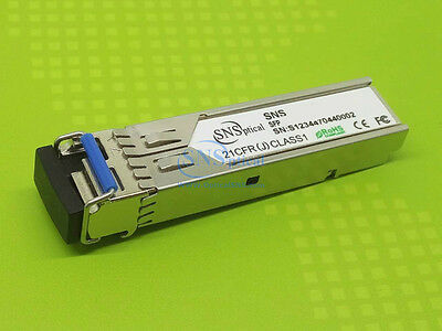 Brocade E1MG-1G-BXD-40 Compatible 1000BASE-BX BiDi SFP 1550/1310nm 40km