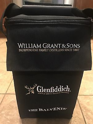 Glenfiddich Scotch Whisky and The Balvenie 4 Bottle Carrying Bag