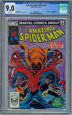 AMAZING SPIDER-MAN #238 - CGC 9.0 - White Pages VF/NM  First HOBGOBLIN
