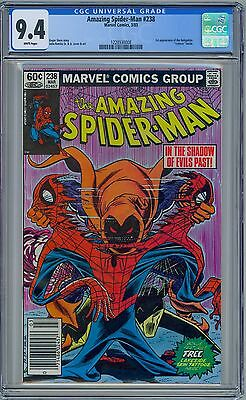 AMAZING SPIDER-MAN #238 - CGC 9.4 - White Pages NM  First HOBGOBLIN