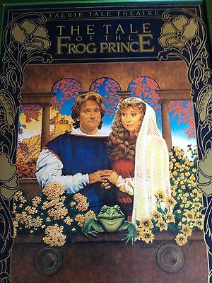 Robin Williams, Tale of the Frog Prince, Faerie Tale Theatre, Poster. Very Rare!