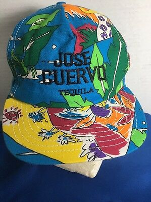 Jose Cuervo Tequilla Tropical Snapback Baseball Party Hat