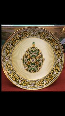 Faberge Garden Of Jewels Imperial Egg Jeweled Plate