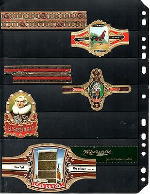 Cigar Bands... (Various Large Size)...all Different (Lot 0026)