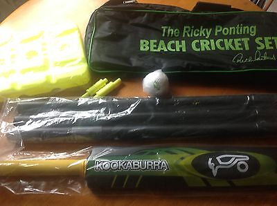 Ricky Ponting Beach Cricket Set Brand New