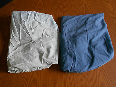 Lot of 2 Baby Connection Baby Boy Blue CRIB sheets
