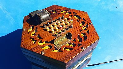 antique concertina wheatstone concertina needs attention