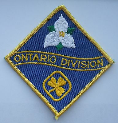 Girl Guides of Canada Badge Patch Ontario Division