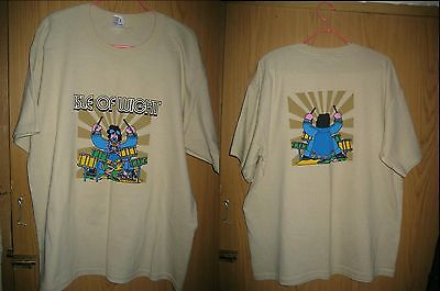 ISLE OF WIGHT Fest T JIMI HENDRIX BEATLES WHO DAVID BOWIE ROLLING STONES POLICE