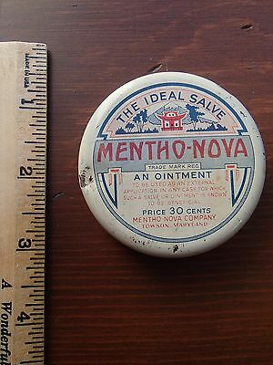 Vintage Salve Medicine Tin with Contents Towson Maryland