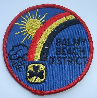 Girl Guides of Canada Badge Patch Balmy Beach Division