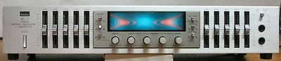 VINTAGE SANSUI RG-7 STEREO GRAPHIC EQUALIZER MADE IN JAPAN  Tested & Functional