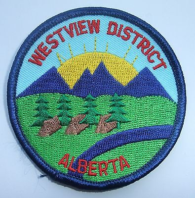 Girl Guides of Canada Badge Patch Westview District Alberta