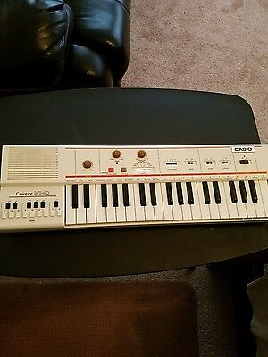 Casio Casiotone MT-40 Electronic Keyboard Synthesizer Synth / VERY NICE