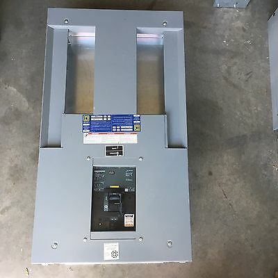 Square D Hcn I-Line Panel With Lap36400Mb 3 Pole 400 Amp Circuit Breaker