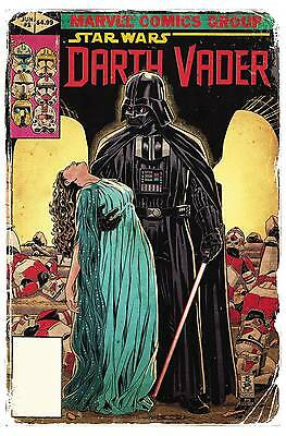 Star Wars Darth Vader #1 Brooks Marvel Homage 1:50 Variant Marvel Comics Nm