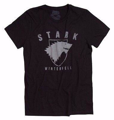 Game Of Thrones STARK OF WINTERFELL Direwolf T-Shirt NWT Licensed & Official