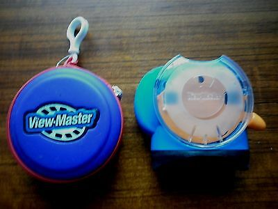 2002 Blue Fisher-Price Mattel View master & Case For Reels