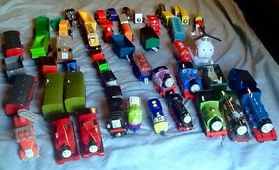 188 Pc Thomas Train Brio Learning Curve Engines Vehicles Wooden Track Buildings