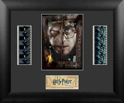 Harry Potter and the Deathly Hallows Pt2 Limited Edition Film Cell Trendsetters