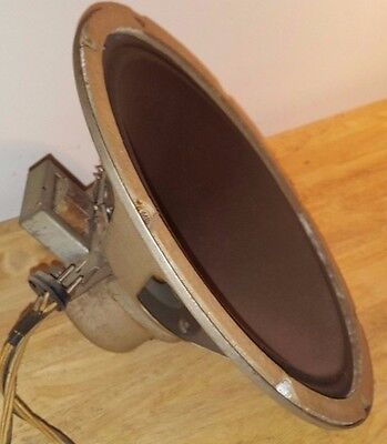 "Vintage 1938 Silvertone 12"" Speaker from a Model 4777 Console Tube Radio"