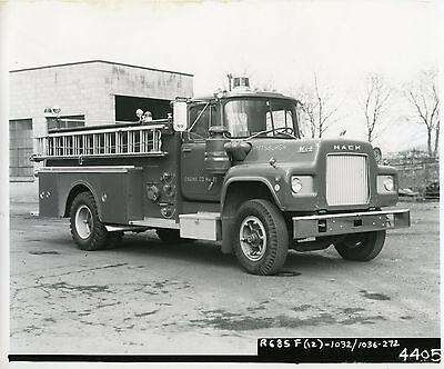 Mack Factory Photo R Model pumper delivered to Pittsburgh, PA Fire Department