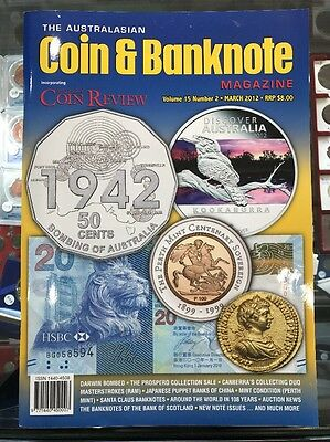 Australasian Coin & Banknote CAB Magazine Vol 15 No 2 March 2012 Coin Review
