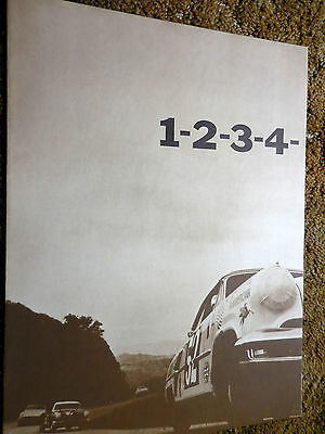 Original 1954 Lincoln 1-2-3-4 Winners of the Mexican Pan Am Road Race catalog