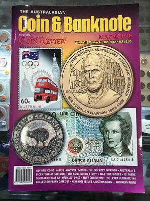Australasian Coin & Banknote CAB Magazine Vol 15 No 6 July 2012 Coin Review