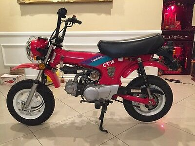 1992 Honda CT  Honda ct 70 ct-70 motorcycle 1992 red excellent condition