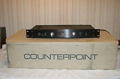 Counterpoint Sa-7 Preamplifier  Tech Serviced=$154.73 / New Tubes / Box & Manual