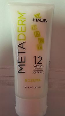 Eczema Cream, METADERM by HAUS FOR PSORIASIS ALSO 6.5 oz FREE SHIPPING