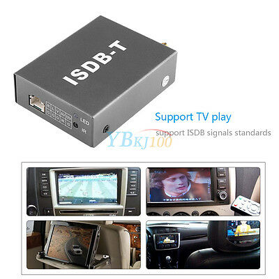 12V Digital Mini TV Box ISDB-T502 Signal Receiver For Car DVD Monitor Analog TV