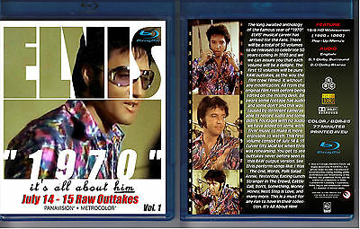 Elvis Presley 1970 - It's All About Him - Vol. 1 - New Blu-Ray Sealed!