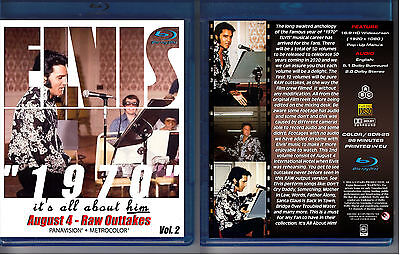 Elvis Presley 1970 - It's All About Him - Vol. 2 - New Blu-Ray Sealed!